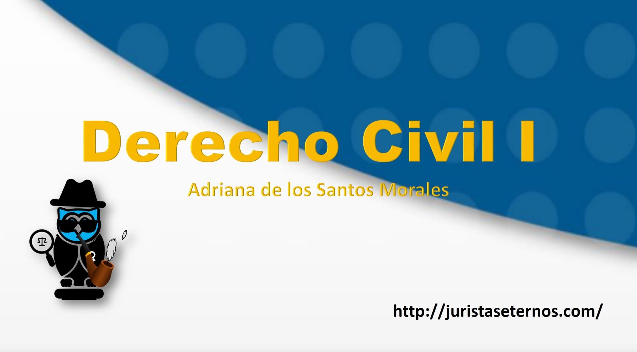 derecho civil 1 adriana de los santos morales pdf