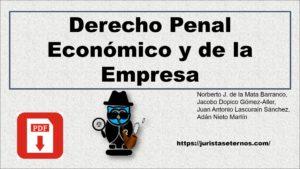 Derecho Penal Económico y de la Empresa-De La Mata PDF