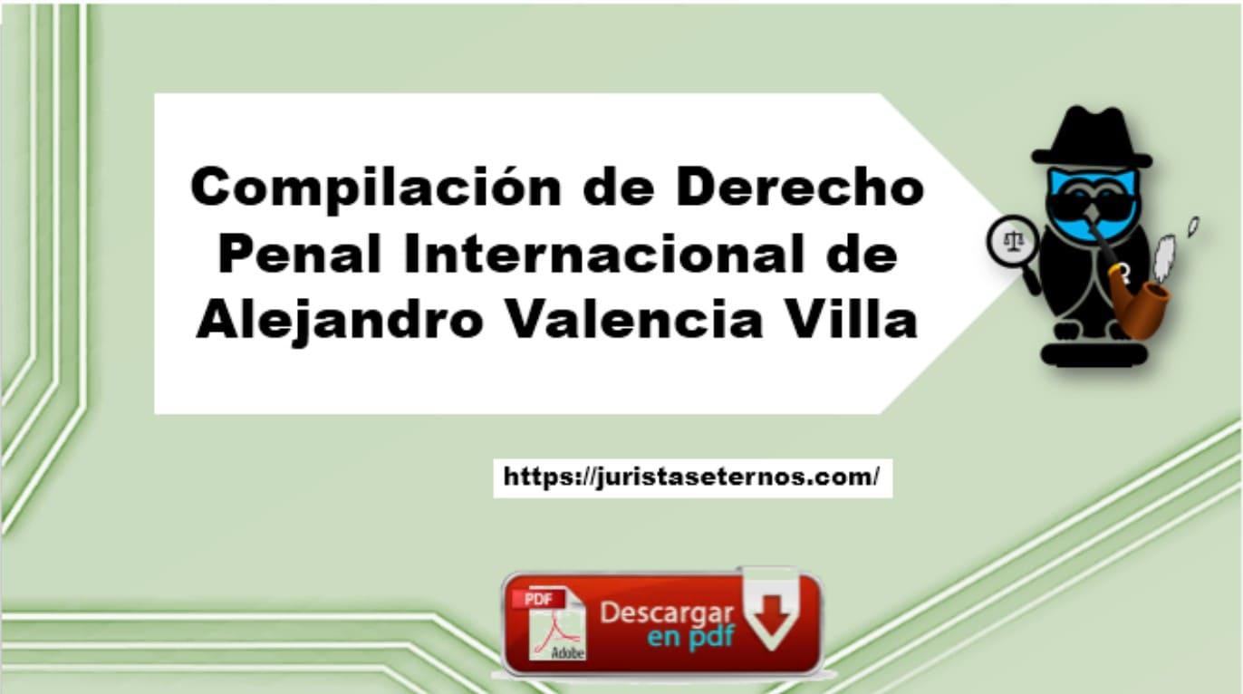 derecho penal internacional alejandro villa pdf