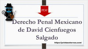 Derecho Penal Mexicano de David Cienfuegos Salgado PDF
