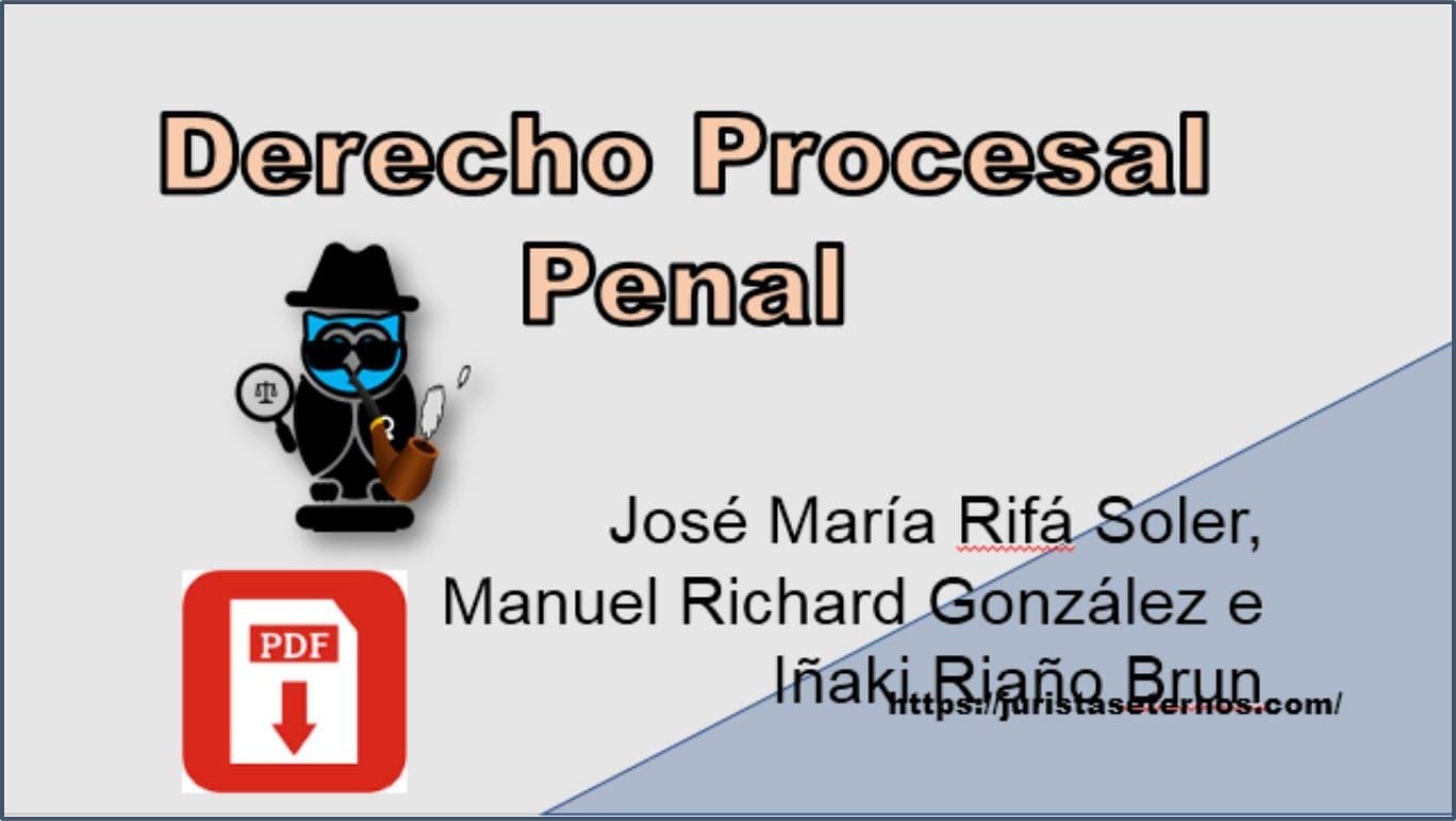 derecho procesal penal rifa soler pdf