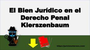 El Bien Jurídico en el Derecho Penal Kierszenbaum PDF