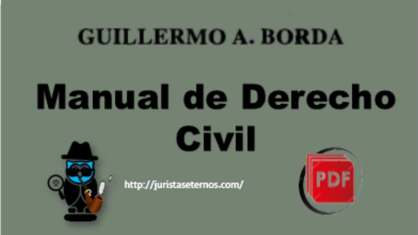manual de derecho civil guillermo borda pdf