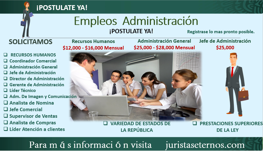 Empleos de Administración