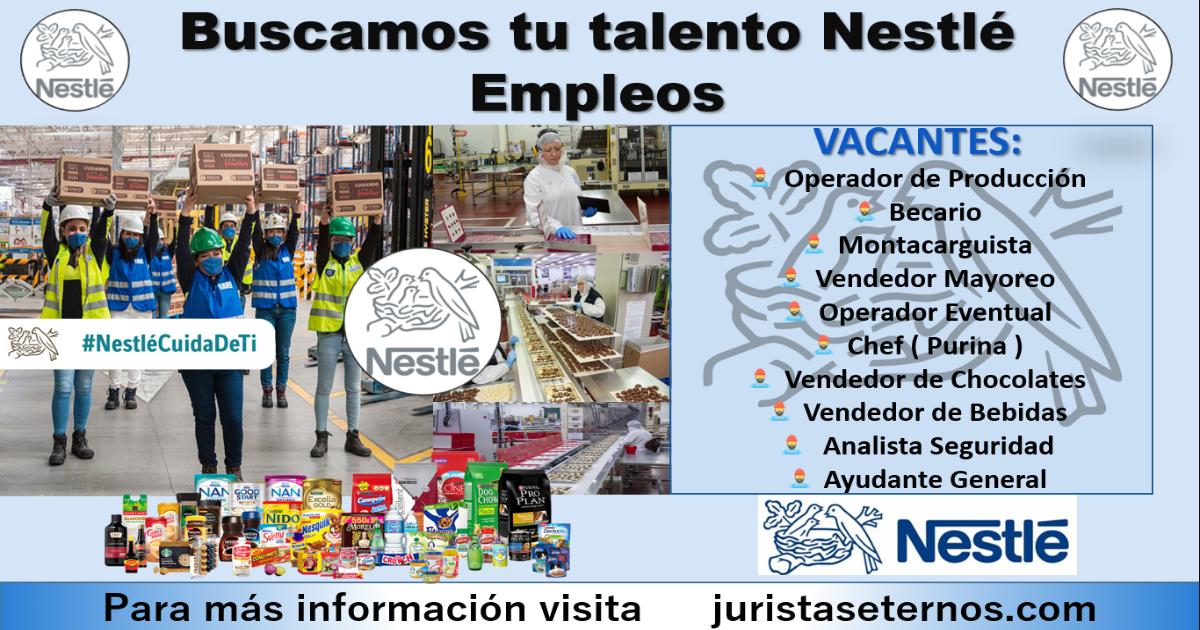 Bolsa de Trabajo Nestlé