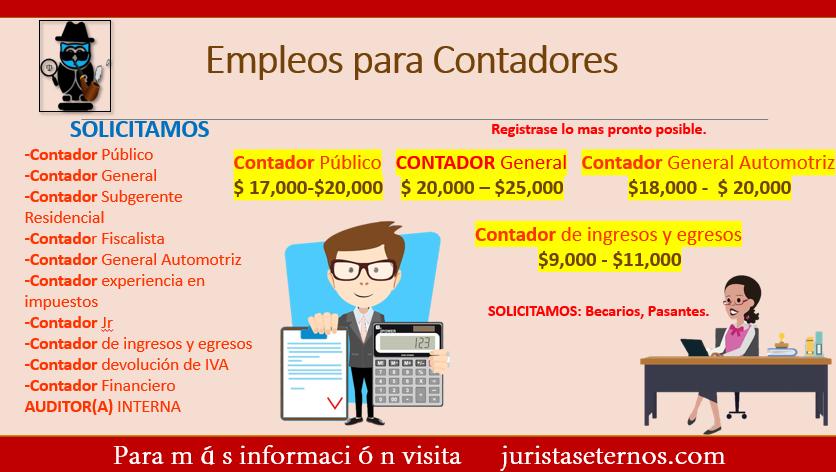 Empleos para Contadores