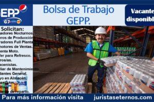 Bolsa de trabajo GEPP