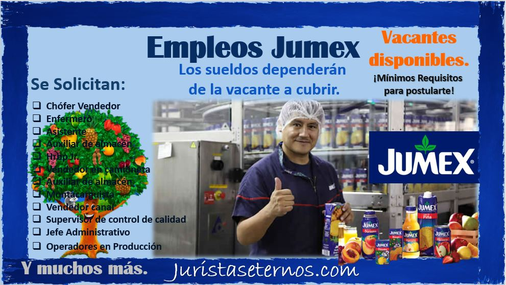 Empleos Disponibles JUMEX