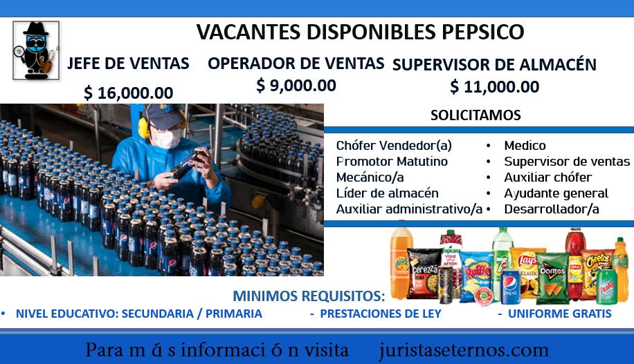 Vacantes Pepsico