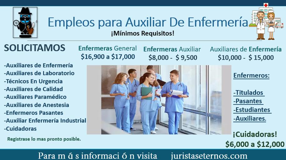 Empleos para enfermeras