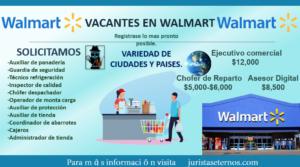 Vacantes Disponibles En Walmart