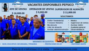 Empleos Pepsico